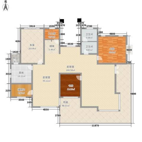 鱼尾狮2室0厅2卫1厨324.00㎡户型图