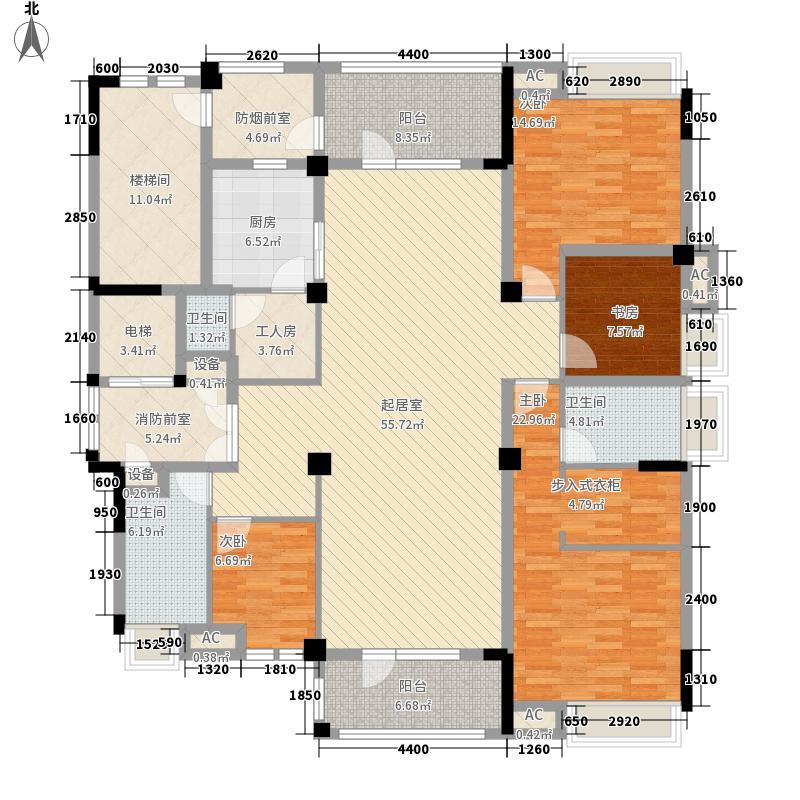 龙苑澜岸214.00㎡37、38号楼小高层户型