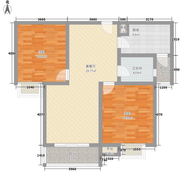 F、空港中心城89.69㎡F、空港中心城户型图H7户型2室2厅1卫1厨户型2室2厅1卫1厨