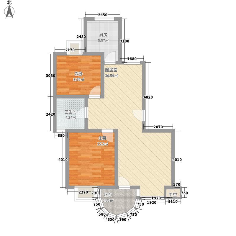 宝林雅苑92.20㎡C户型3室