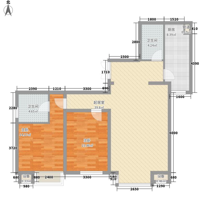 新希望家园新希望家园户型图二期25号楼标准层E户型2室1厅2卫户型2室1厅2卫