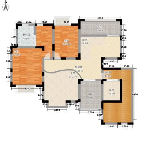 丰景佳园2室0厅1卫0厨160.00㎡户型图