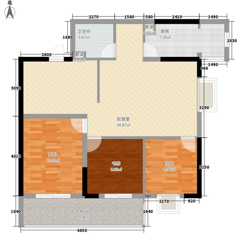 银仁花园124.00㎡银仁花园户型图3室户型图3室2厅2卫1厨户型3室2厅2卫1厨