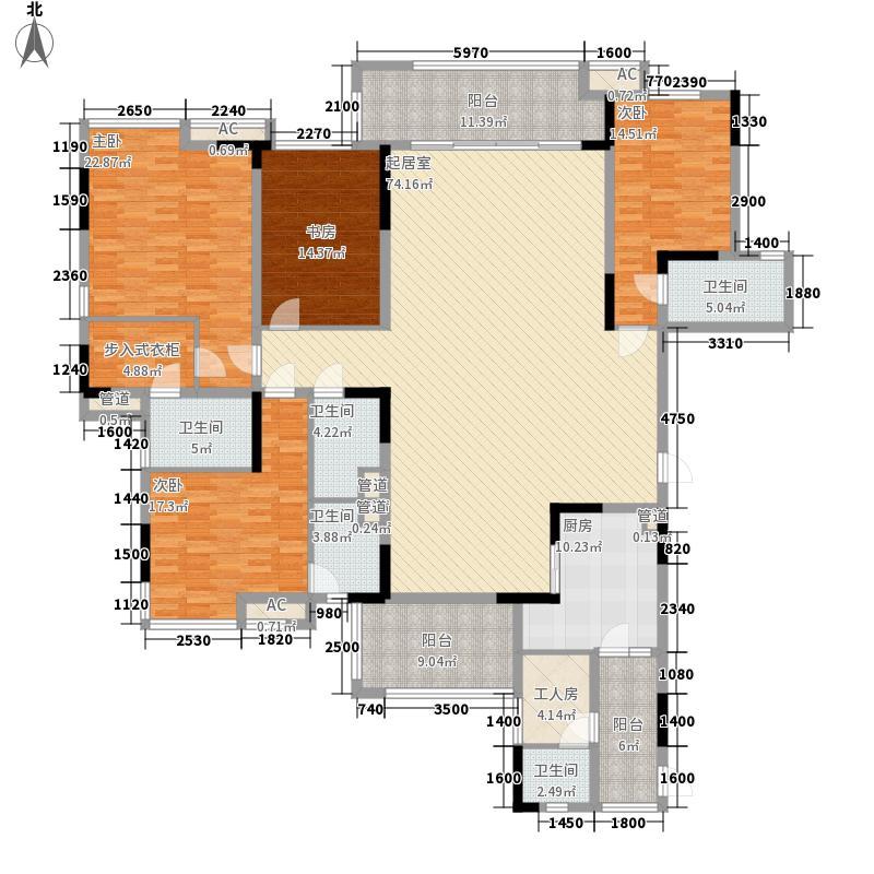 丰泰观山碧水二期别墅丰泰观山碧水二期别墅户型图5、6栋标准层01单元3室2厅2卫户型3室2厅2卫