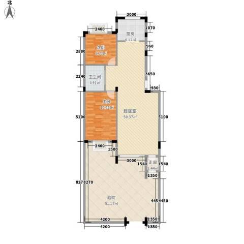 印象江南2室0厅1卫0厨100.00㎡户型图
