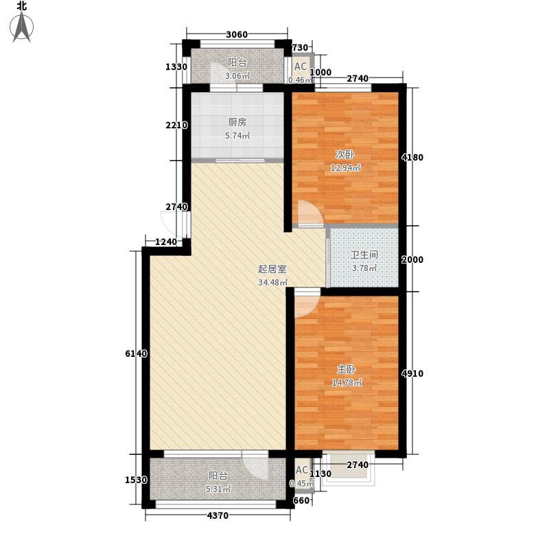 我的家园115.00㎡我的家园户型10室