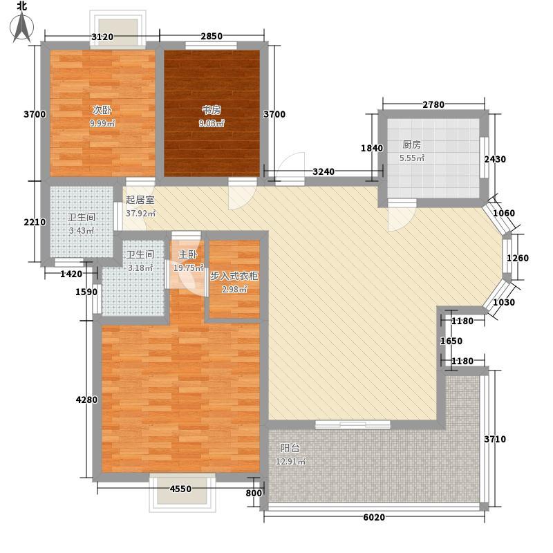 国色天香150.90㎡国色天香户型图C户型3室2厅2卫1厨户型3室2厅2卫1厨