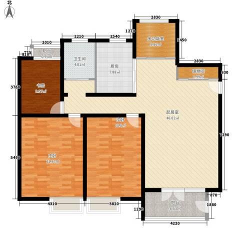 华馨苑别墅3室0厅1卫1厨175.00㎡户型图