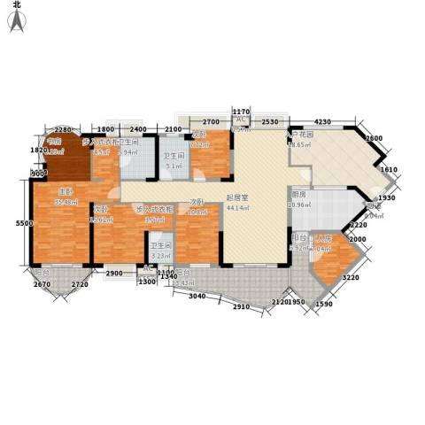 丽湖山庄4室0厅3卫1厨472.00㎡户型图