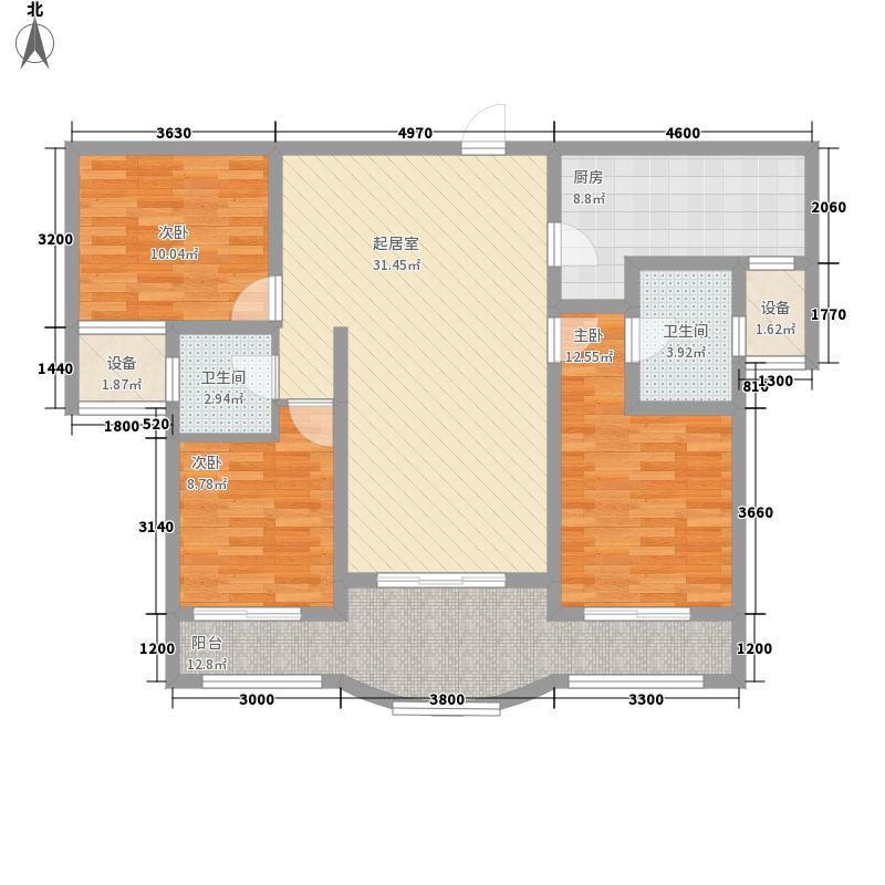 印象泰山117.00㎡印象泰山f3室2厅2卫1厨117.00㎡户型3室2厅2卫1厨