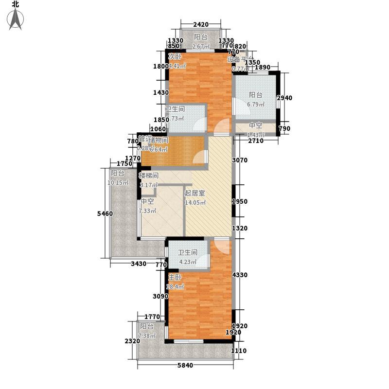 太湖纯水岸147.60㎡A3-复式户型5室2厅