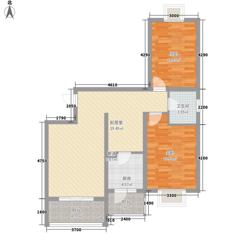 建安公司 4室 户型图