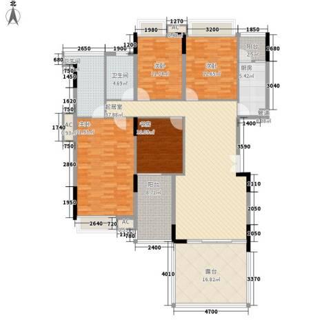 半山溪谷E墅别墅4室0厅2卫1厨149.00㎡户型图