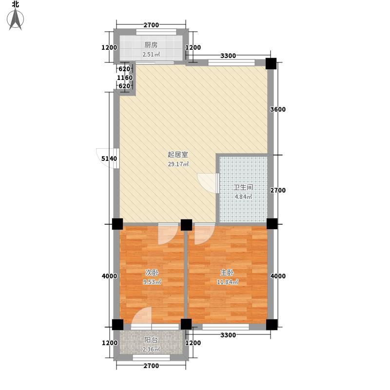 滨城南岸78.88㎡滨城南岸户型图户型图2室1厅1卫1厨户型2室1厅1卫1厨