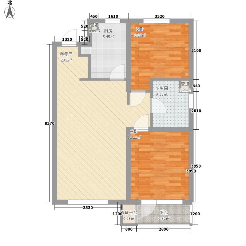 万科鹿特丹万科鹿特丹户型图两室两厅一卫92㎡户型10室