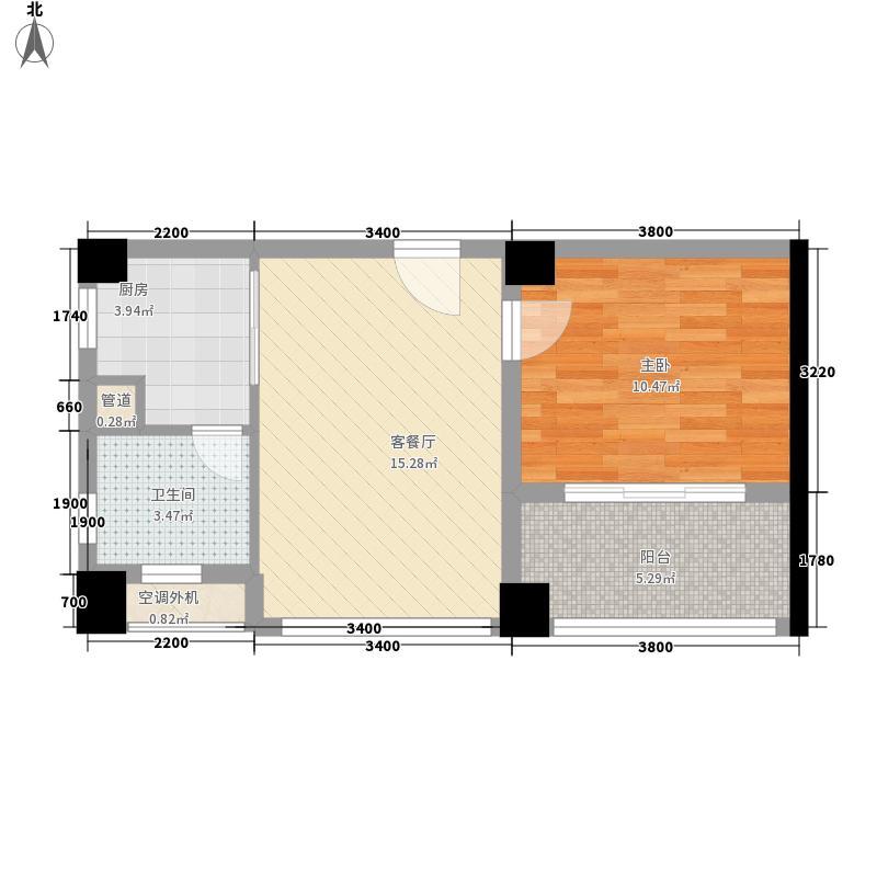 金地国际花园别墅金地国际花园别墅户型图三期7栋三层1AS-A户型1室2厅户型1室2厅