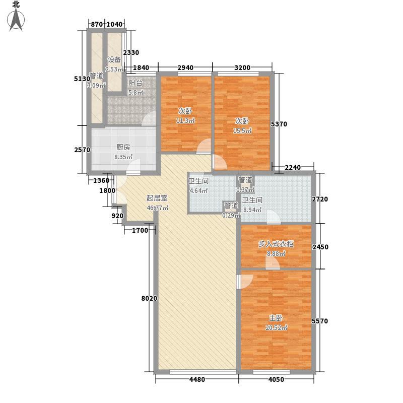 金地国际花园金地国际花园10室户型10室