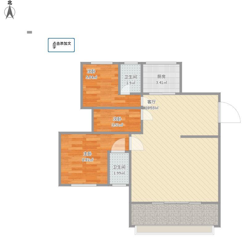 李欢富康花园10号楼1单元702室