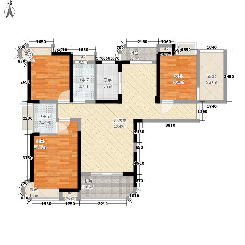 一期高层1#楼F3户型