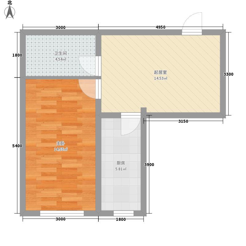 北府新城高层1、3单元标准层C户型
