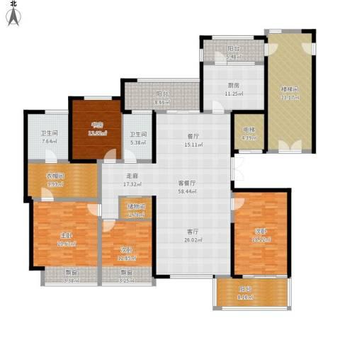 ART蓝海4室1厅2卫1厨292.00㎡户型图