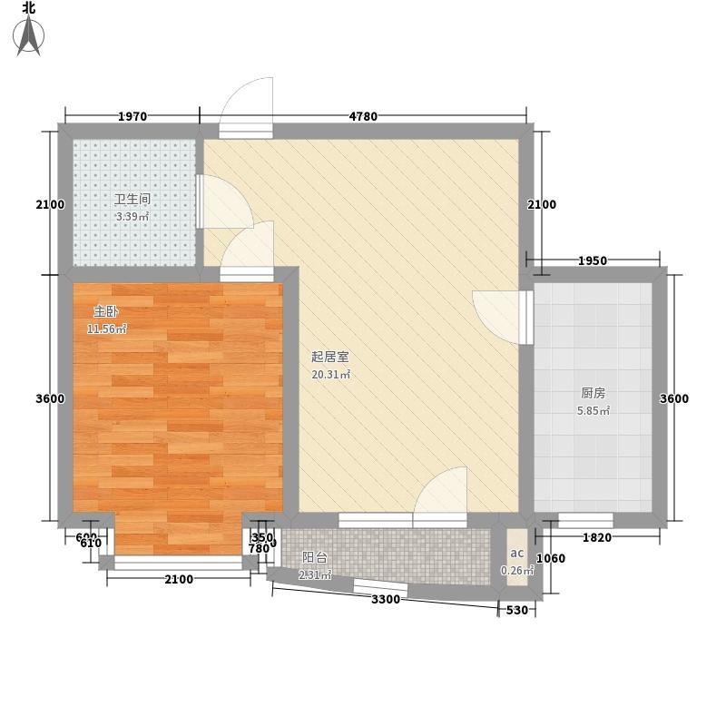 圆梦园圆梦园户型图1室2厅1卫户型10室