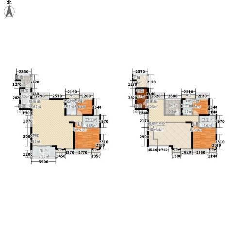 名流印象花园5室0厅4卫1厨243.00㎡户型图