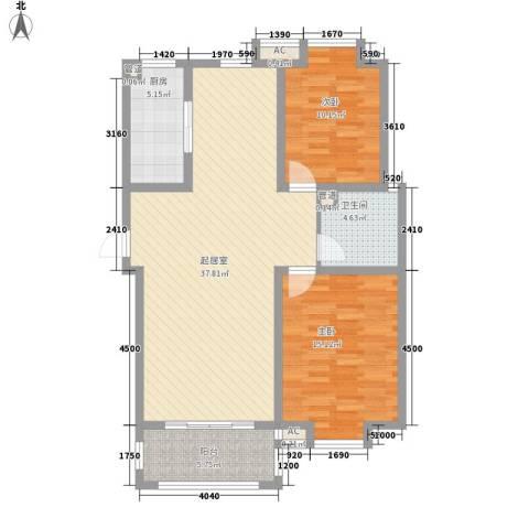 一品和�2室0厅1卫1厨114.00㎡户型图
