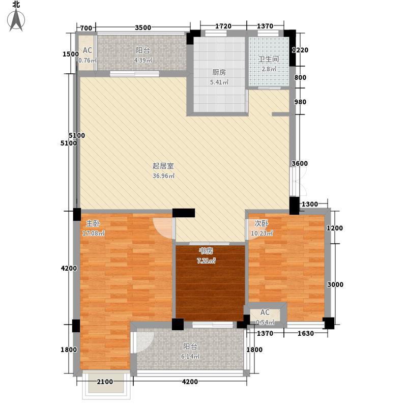 华锦春天320C1二五层户型3室