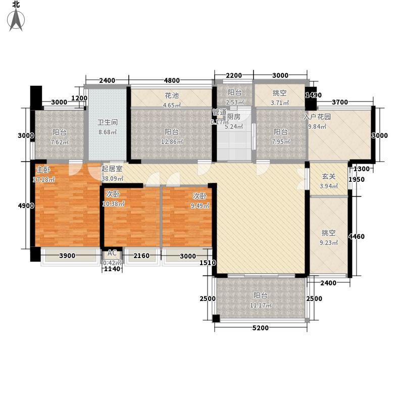 和兴花园二期75.00㎡和兴花园二期3室户型3室