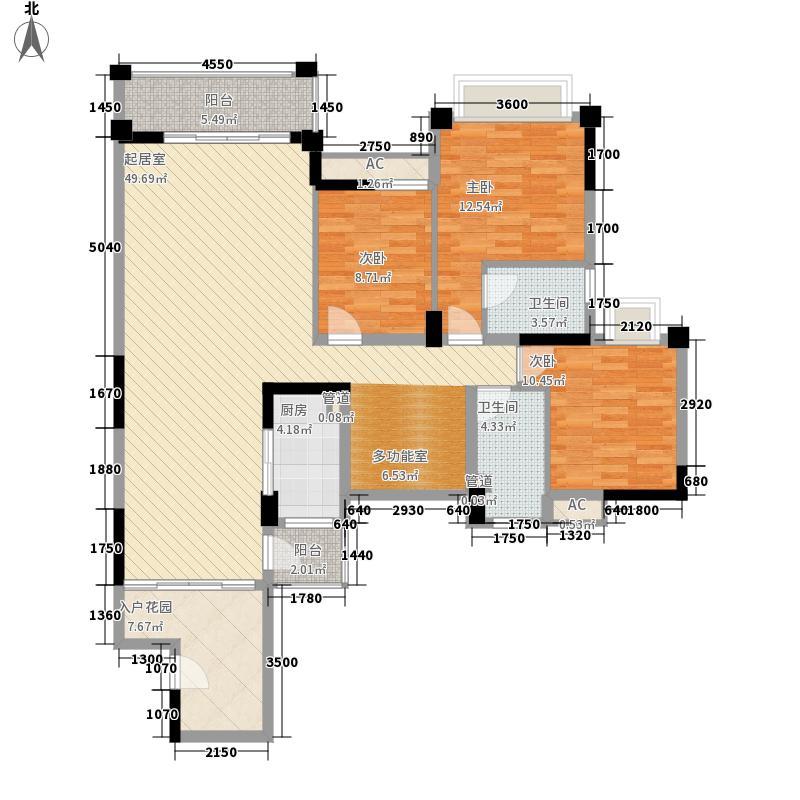 香堤水岸134.32㎡香堤水岸户型图03/04单元4室2厅2卫1厨户型4室2厅2卫1厨