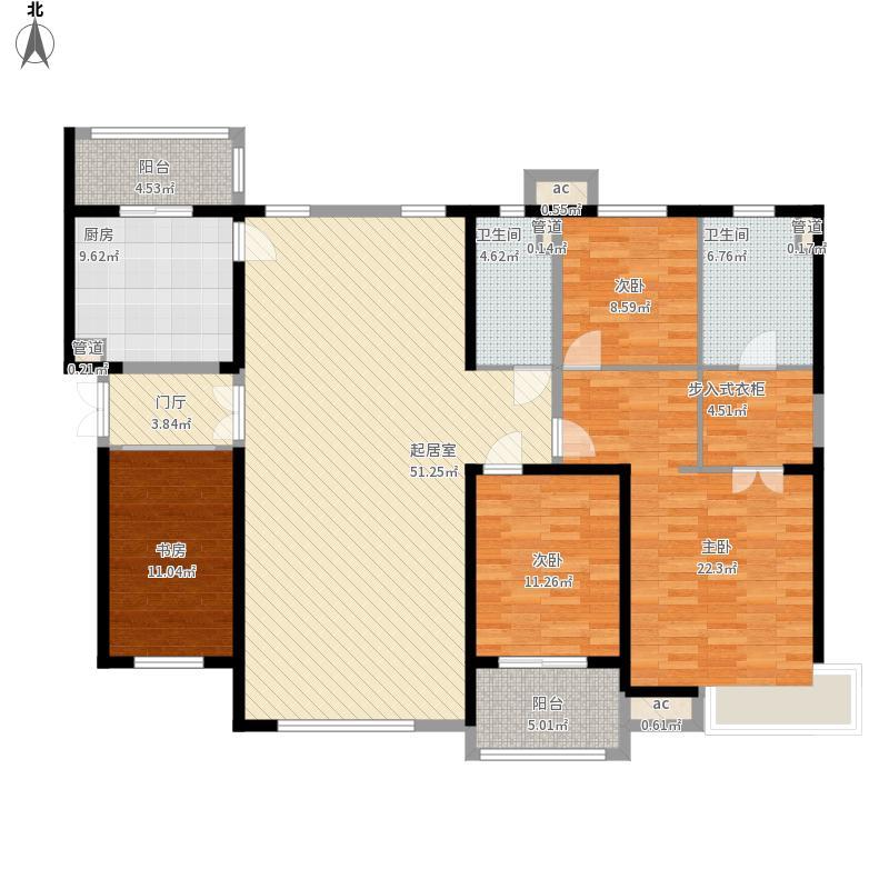 中海国际社区-四室两厅两卫-195