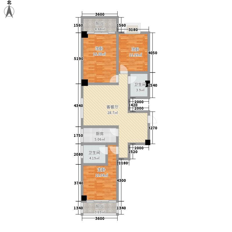 银池品智天下136.17㎡银池品智天下户型图B1标准层户型图3室2厅1卫1厨户型3室2厅1卫1厨