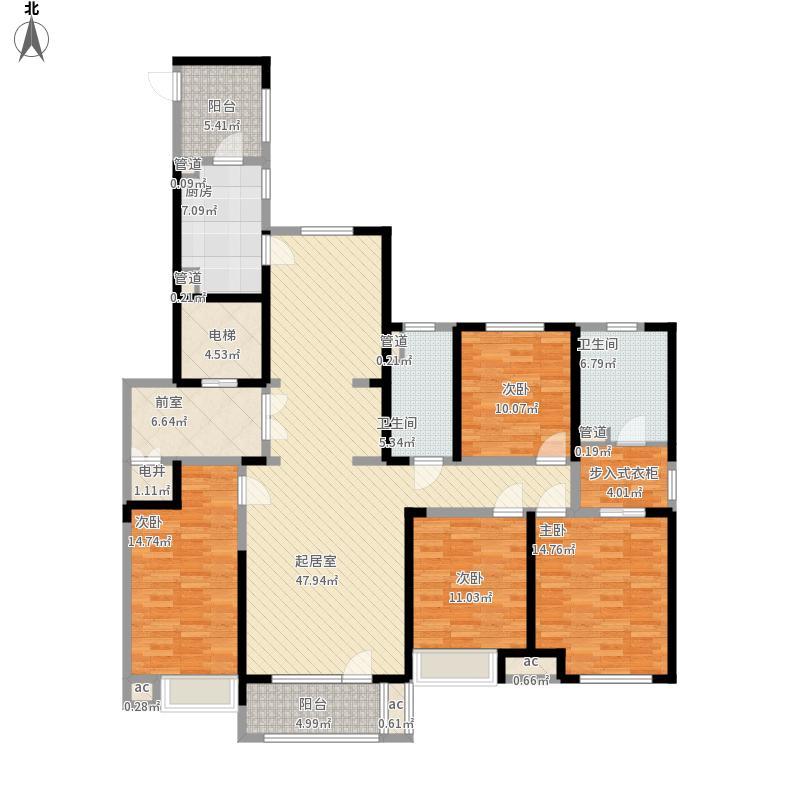 中海国际社区-四室两厅两卫-180