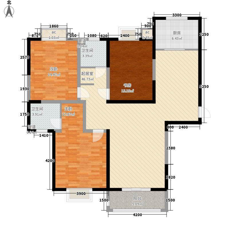 未央湖畔153.39㎡未央湖畔户型图F户型图3室2厅2卫1厨户型3室2厅2卫1厨