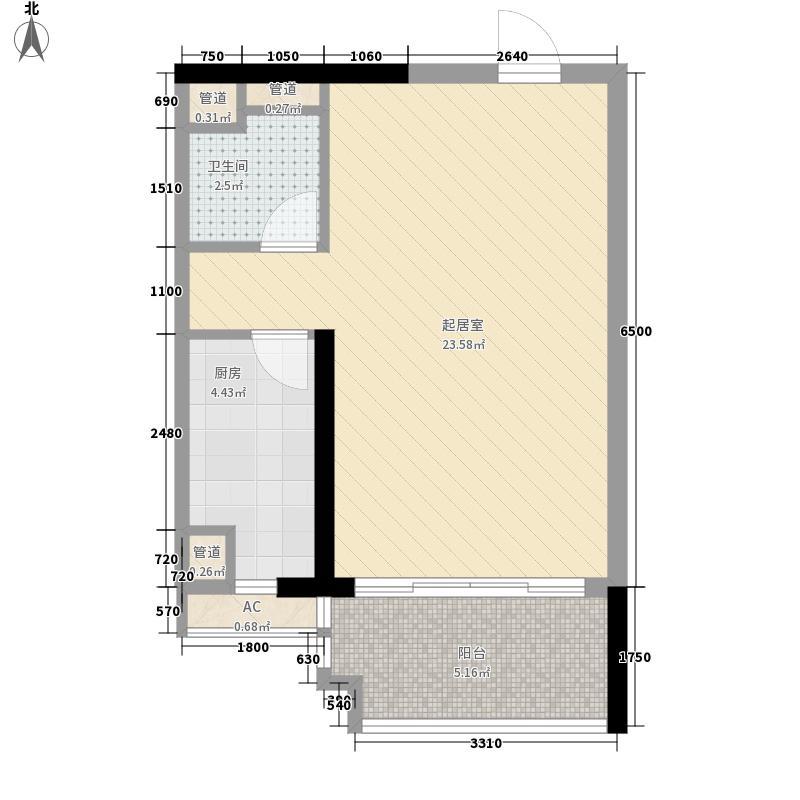 越秀・星汇御府越秀地产珠江新城D8-C3项目户型图A-07户型10室