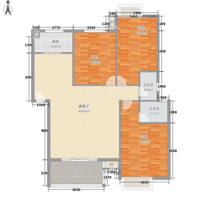 人信千年美丽别墅146.52㎡人信千年美丽别墅户型图A/L-7户型2室3厅2卫1厨户型2室3厅2卫1厨