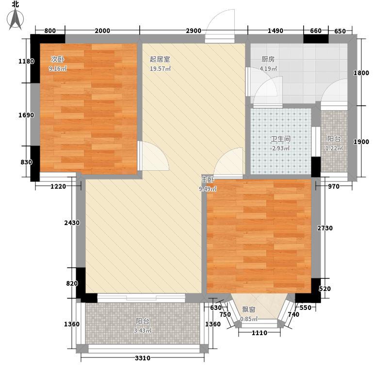 大虹桥路人行宿舍20100724084328户型10室
