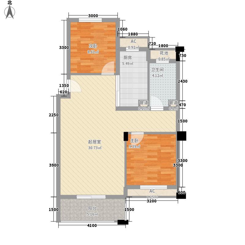 银树湾86.00㎡银树湾户型10室