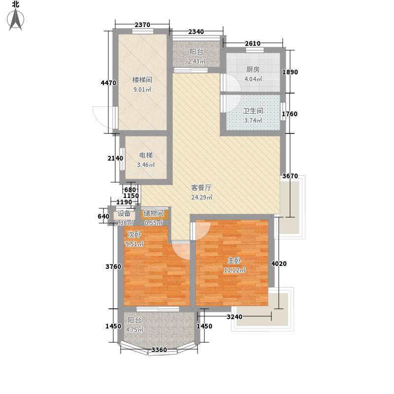 共和新苑109.38㎡上海共和新苑(尚城晶座)户型10室