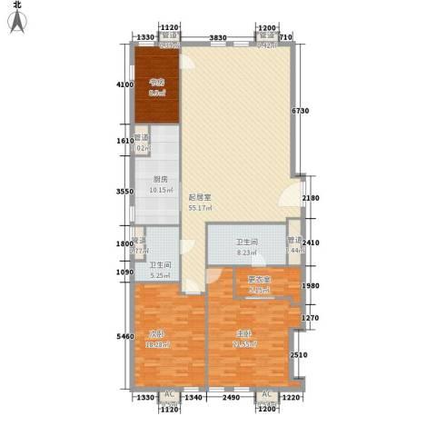 瑞安·君汇3室0厅2卫1厨200.00㎡户型图