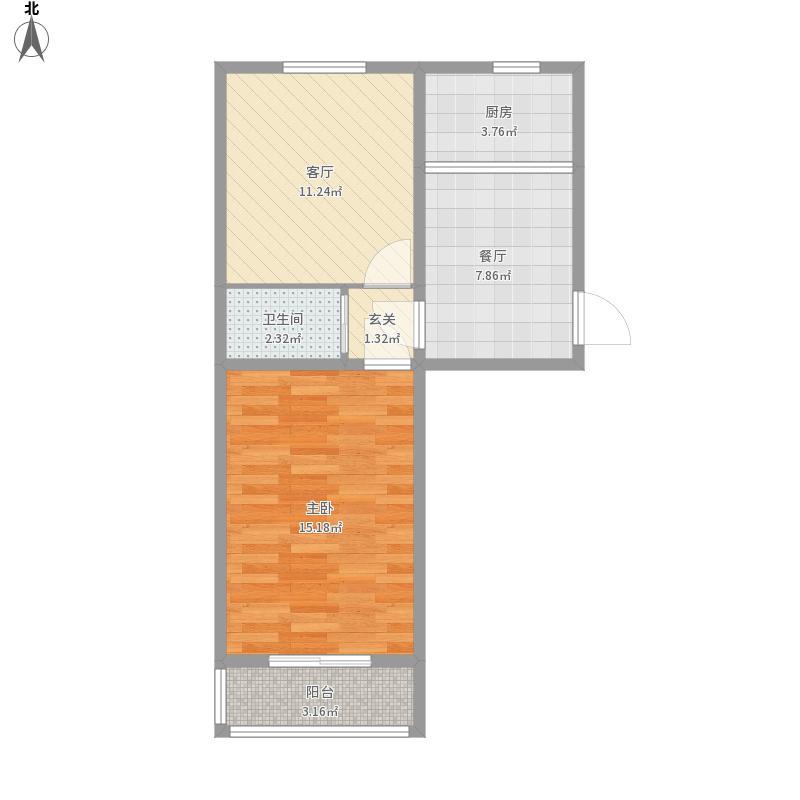 北京-劲松陈二之家1-设计方案