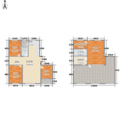 都市左岸4室0厅2卫0厨272.00㎡户型图