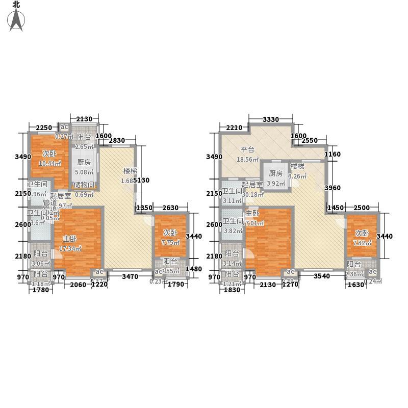 国大全城239.02㎡A'1、5号楼2单面积23902m户型