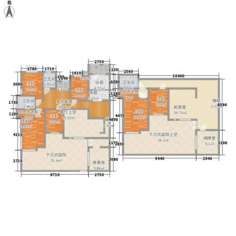 国大全城6室0厅3卫0厨290.00㎡户型图