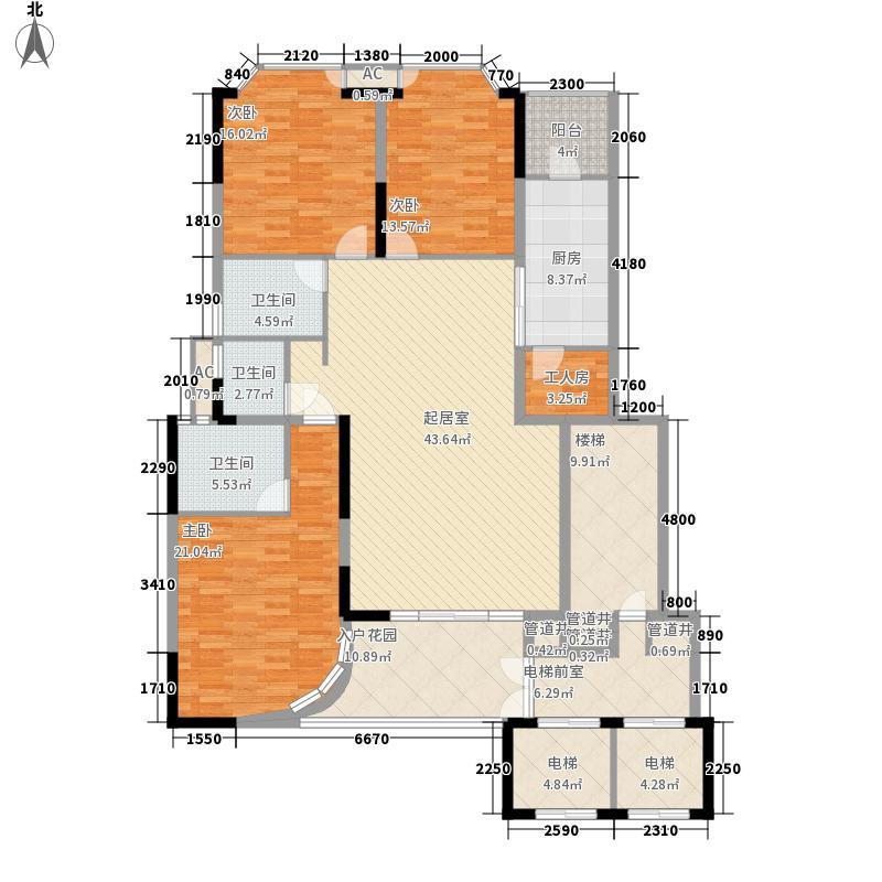 丽湖山庄360.00㎡丽湖山庄4室户型4室