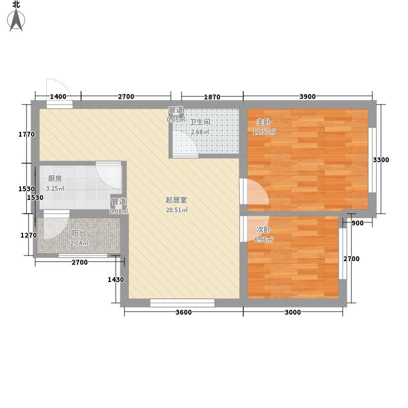 东方尚城71.70㎡东方尚城户型图高层3户型1室1厅1卫户型1室1厅1卫