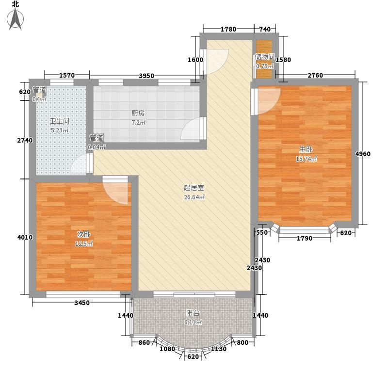 申达枫桥苑户型图枫桥苑 户型图 2室1厅1卫1厨