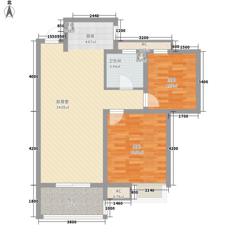 银树湾88.00㎡银树湾户型10室