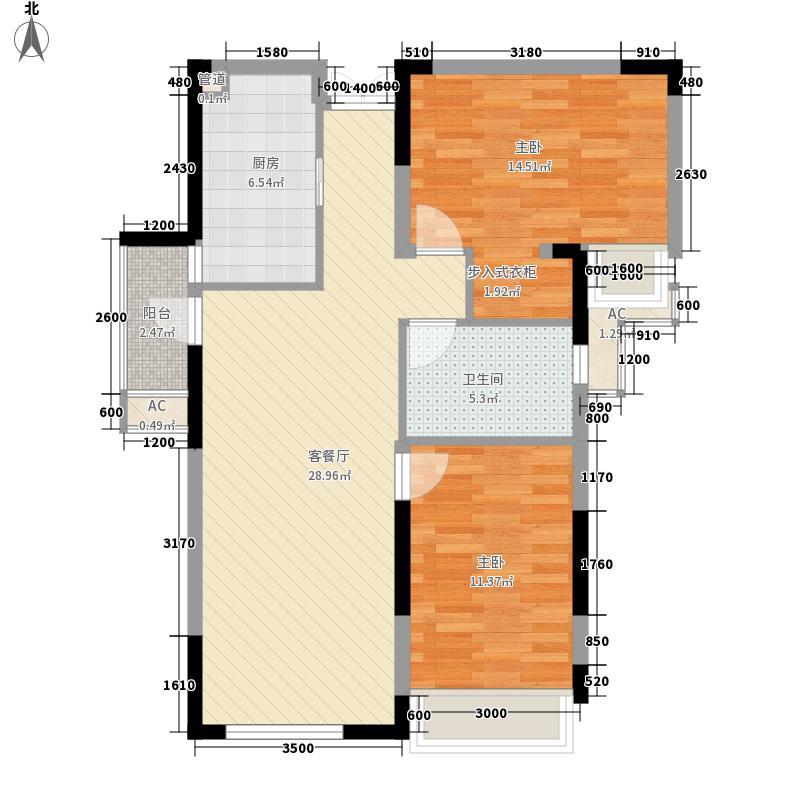 凯德风尚别墅C3型(售罄)户型10室